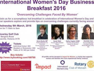 International Women's Day Business Breakfast