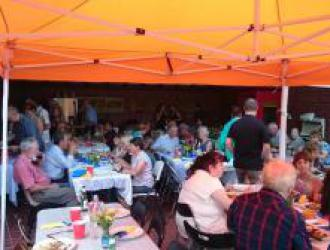 2016 joint social meeting/bbq with the Rotary Club of Mount Waverley